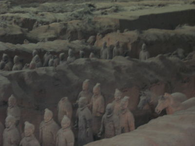 Guerreros De Terracota Xi\'an China