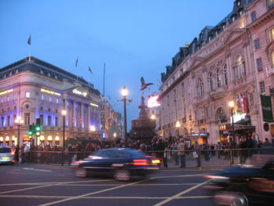Shaftesbury Memorial Fountain, Piccadilly Circus Londres